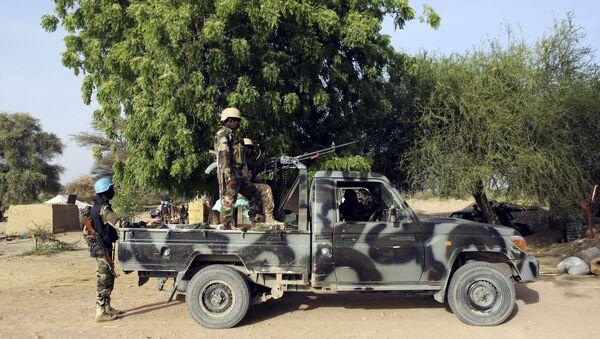 Soldados del Ejército de Nigeria - Sputnik Mundo