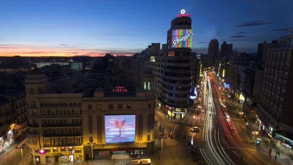 Plaza de Callao (Madrid) - Sputnik Mundo