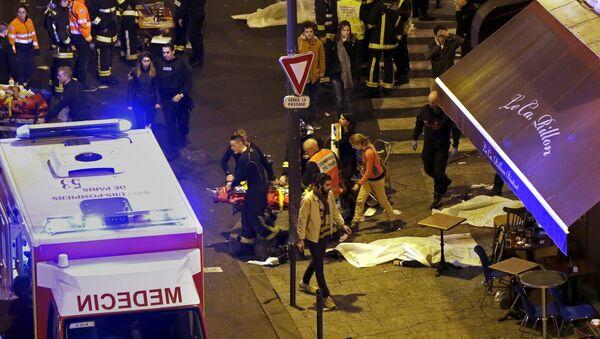 Ataques en París - Sputnik Mundo