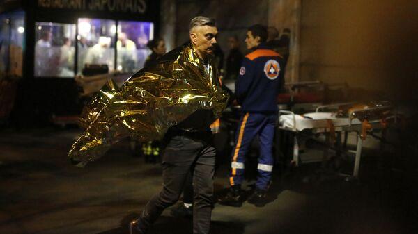 Víctima del asalto a la sala Bataclán de París. - Sputnik Mundo