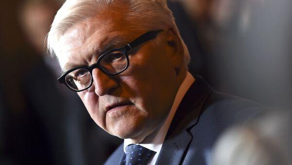 Frank-Walter Steinmeier, ministro de Asuntos Exteriores de Alemania - Sputnik Mundo