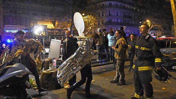 Atentado en París del 13 de noviembre 2015 - Sputnik Mundo