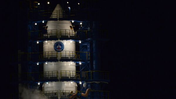 El cohete espacial de clase Soyuz-2.1b (archivo) - Sputnik Mundo