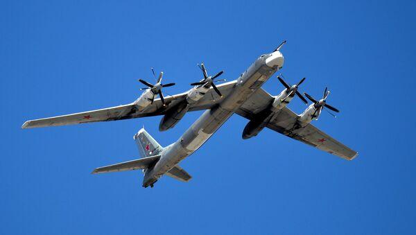 Bombardero estratégico rusoTu-95MS - Sputnik Mundo