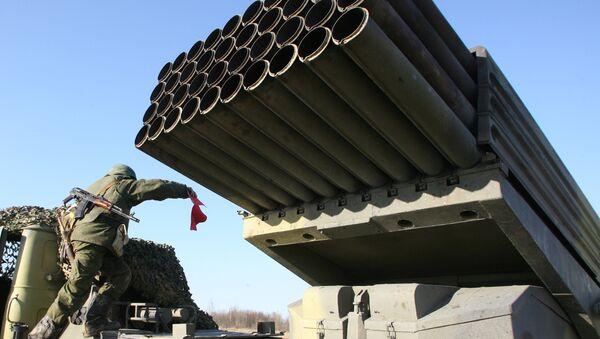 Sistema de artillería Grad - Sputnik Mundo