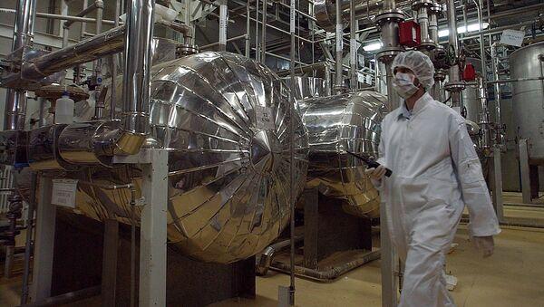 Centrifugadoras nucleares iraníes - Sputnik Mundo