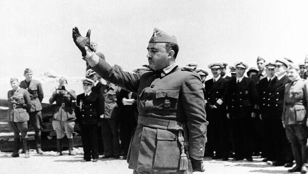 Francisco Franco, dictador español - Sputnik Mundo