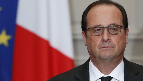 Presidente de Francia Francois Hollande - Sputnik Mundo
