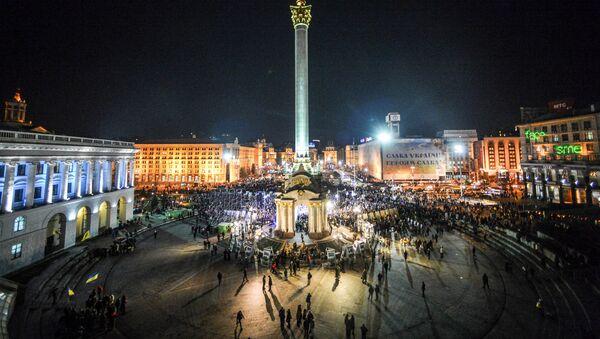 El Maidán Nezalézhnosti (Plaza de la Independencia) de Kiev - Sputnik Mundo