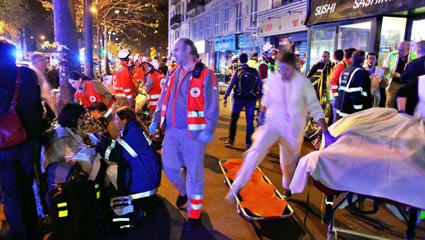 Atentado terrorista en París (noviembre de 2015) - Sputnik Mundo