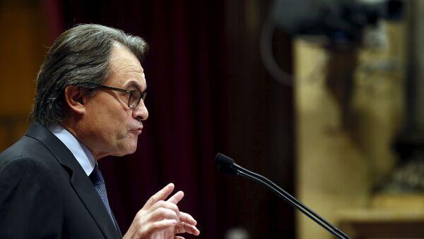 Catalan acting President Artur Mas - Sputnik Mundo