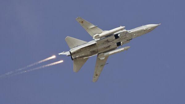 Bombardero ruso Sukhoi Su-24 - Sputnik Mundo