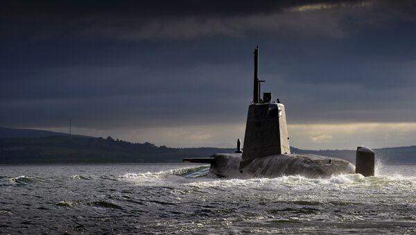 Submarino británico HMS Ambush - Sputnik Mundo