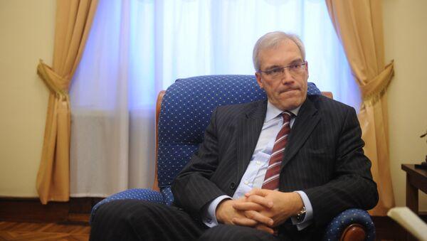 Alexandr Grushkó, embajador de Rusia ante la OTAN - Sputnik Mundo