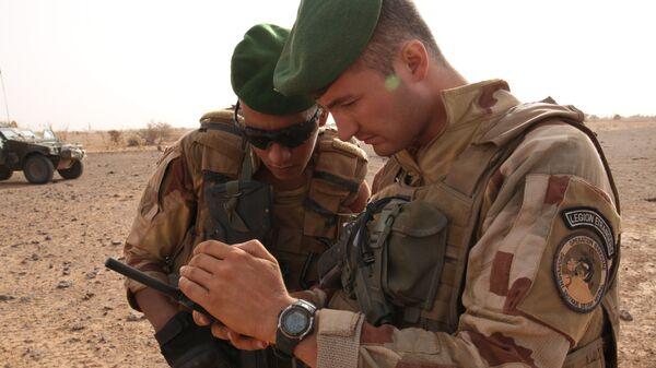 Militares franceses en Malí (archivo) - Sputnik Mundo