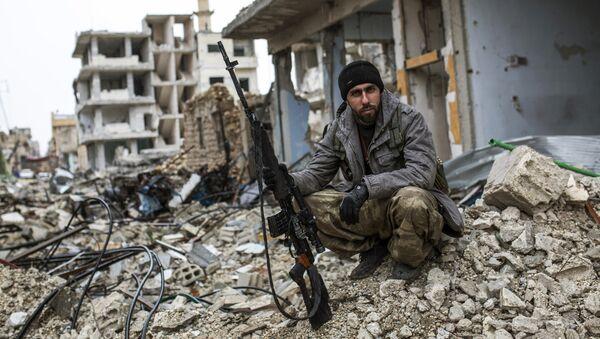 Francotirador en la ciudad siria de Kobani - Sputnik Mundo