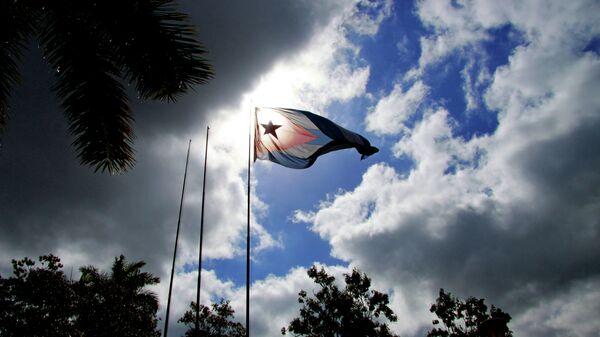 La bandera de Cuba - Sputnik Mundo