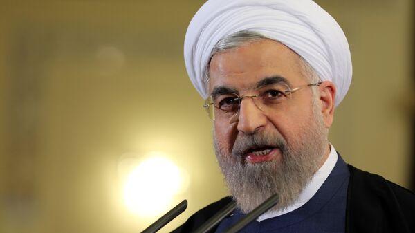 El presidente de Irán, Hasán Rohani (archivo) - Sputnik Mundo