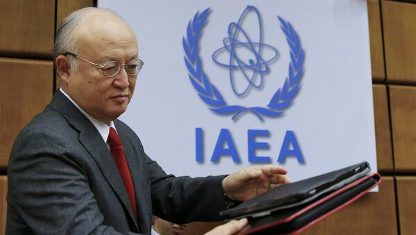 Yukiya Amano, director general del OIEA - Sputnik Mundo