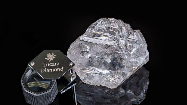 Diamante descubierto en Botsuana - Sputnik Mundo