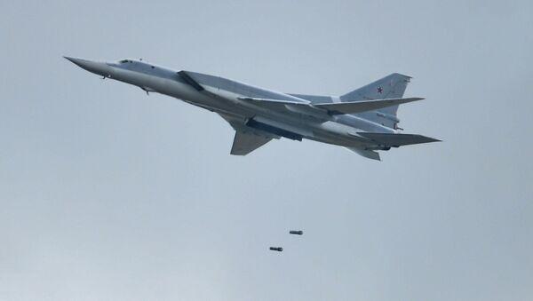Bombardero de largo alcance Tu-22M3 - Sputnik Mundo