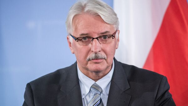 Witold Waszczykowski, ministro de Relaciones Exteriores de Polonia (archivo) - Sputnik Mundo