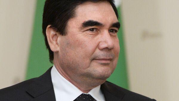 Gurbangulí Berdimujamédov, presidente de Turkmenistán - Sputnik Mundo