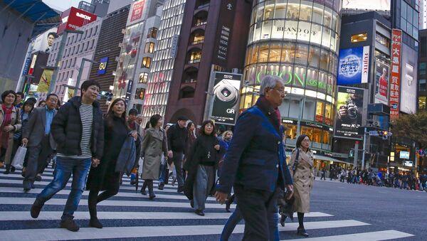 Los ciudadanos de Japón - Sputnik Mundo
