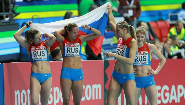 Atletas rusas - Sputnik Mundo