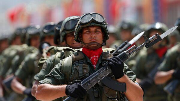 Desfile militar en Caracas, Venezuela - Sputnik Mundo