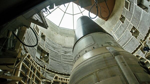 Misil nuclear Titan II - Sputnik Mundo