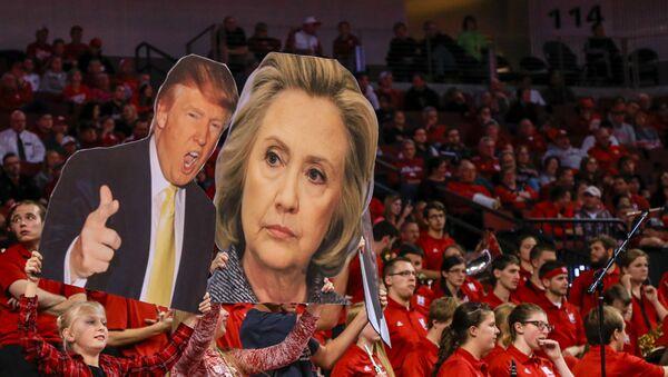 Imágenes de Hillary Clinton y Donald Trump - Sputnik Mundo