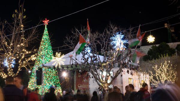 Belén celebrará la Navidad con actos festivos a pesar de la última ola de violencia - Sputnik Mundo