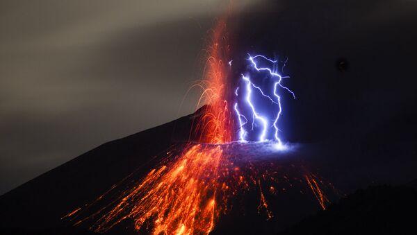 Volcán Sakurajima - Sputnik Mundo