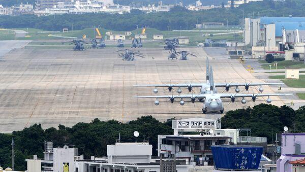 Base de la Fuerza Aérea estadounidense en Okinawa - Sputnik Mundo