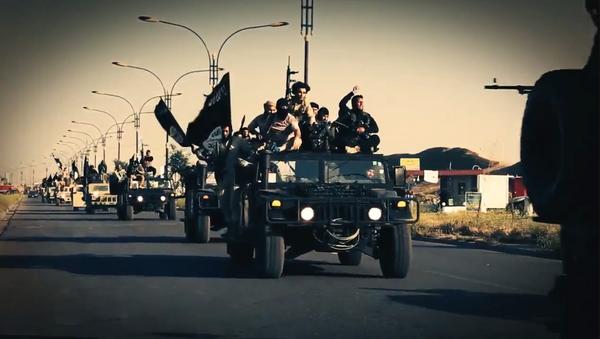 Terroristas yihadistas del grupo Daesh - Sputnik Mundo