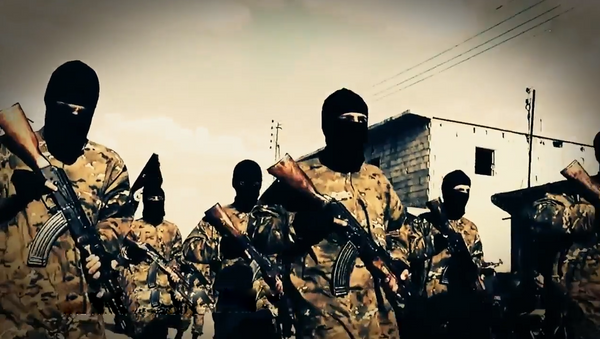 Terroristas del Estado Islámico - Sputnik Mundo