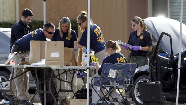 El FBI califica de atentado el tiroteo en San Bernardino - Sputnik Mundo