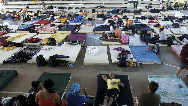 Migrantes cubanos en Costa Rica - Sputnik Mundo
