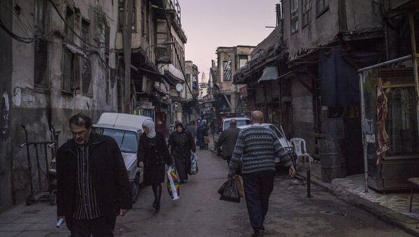 Situación en Damasco - Sputnik Mundo