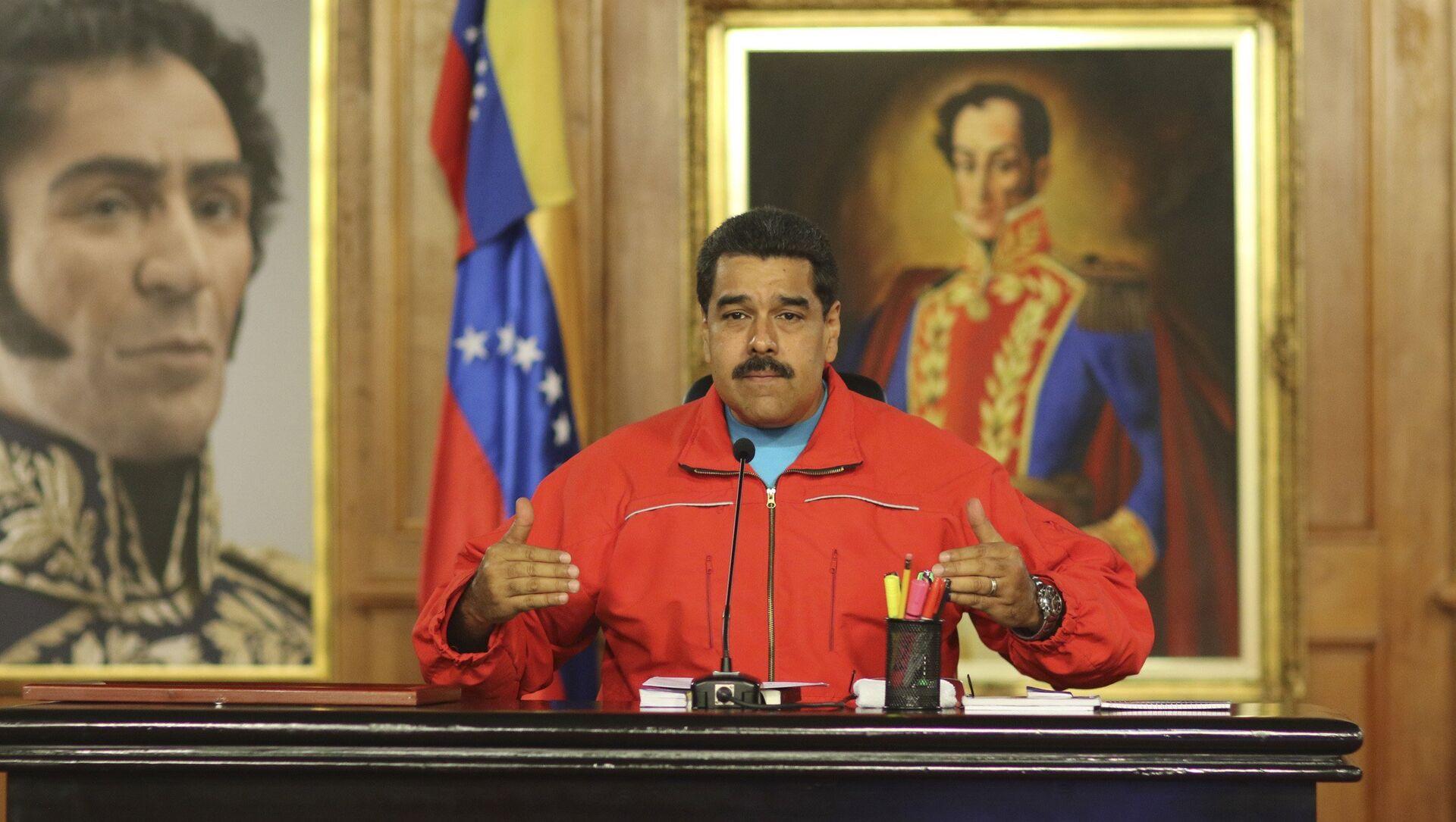 Venezuela's President Nicolas Maduro  - Sputnik Mundo, 1920, 03.02.2021