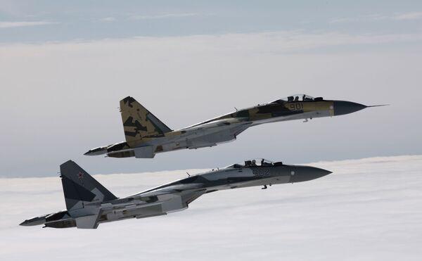 El Su-34 y el Su-35, un orgullo de las Fuerzas Armadas rusas - Sputnik Mundo