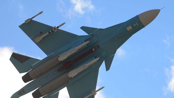 Caza ruso Sukhoi Su-34 - Sputnik Mundo