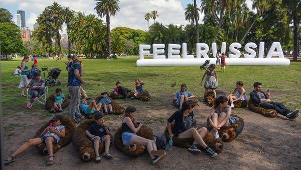 Festival cultural Sentir Rusia en Buenos Aires - Sputnik Mundo