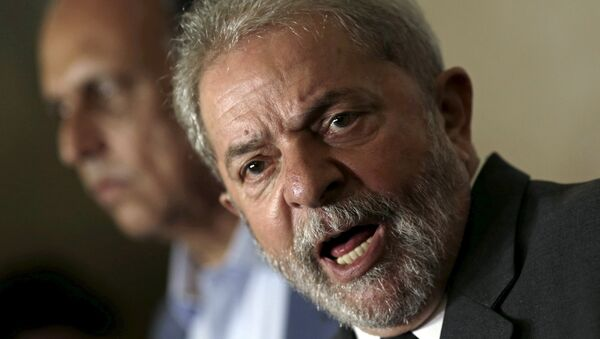 Ex presidente de Brasil, Lula da Silva - Sputnik Mundo