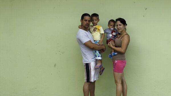 Migrantes cubanos (archivo) - Sputnik Mundo