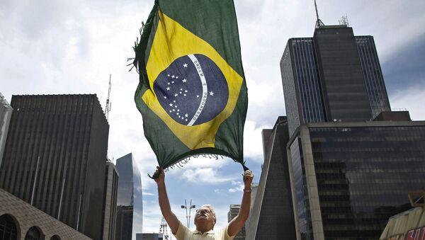 La bandera de Brasil (archivo) - Sputnik Mundo