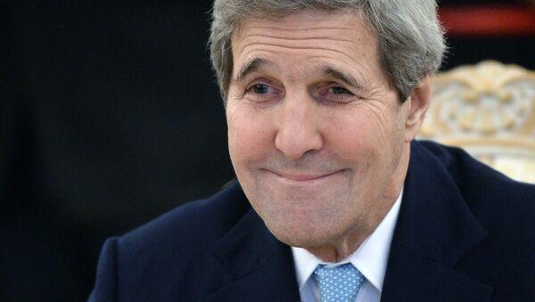 Jonh Kerry, secretario de Estado de EEUU - Sputnik Mundo