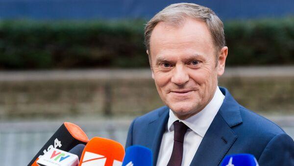 Donald Tusk, presidente del Consejo Europeo - Sputnik Mundo