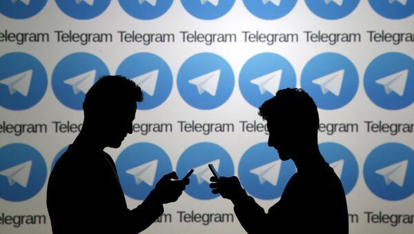 Telegram (imagen referencial) - Sputnik Mundo